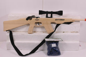 AK-47 Combat Rifle w/ Scope & Sling + Ammo-Toys & Hobbies:Classic Toys:Other Classic Toys-ProTinkerToys.com