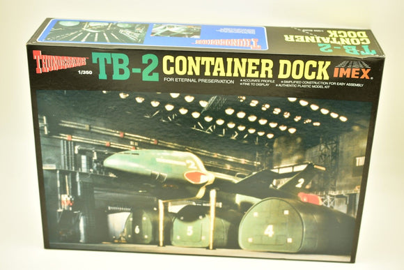 IMEX IM1207 TB-2 CONTAINER DOCK THUNDERBIRDS KIT MODEL  1:350 MODEL-IMEX-ProTinkerToys