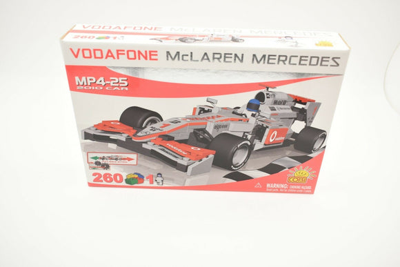 COBI 25262 VODAFONE MCLAREN MERCEDES MP4-25 2010 CAR PULL-BACK ACTION 260/PARTS-Toys & Hobbies:Building Toys:Building Toy Pieces & Accessories-ProTinkerToys.com