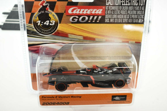 20064008 CARRERA GO 1:43 SLOT CAR FORMULA E VENTURI RACING
