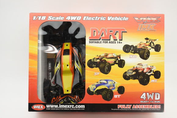 Dart XB – Brushless RTR (YELLOW)-Toys & Hobbies:Radio Control & Control Line:RC Model Vehicles & Kits:Cars, Trucks & Motorcycles-ProTinkerToys.com