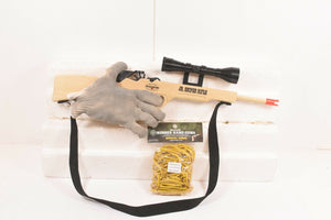 Jr. Sniper Rifle w/ Scope & Sling + Ammo-Toys & Hobbies:Classic Toys:Other Classic Toys-ProTinkerToys.com
