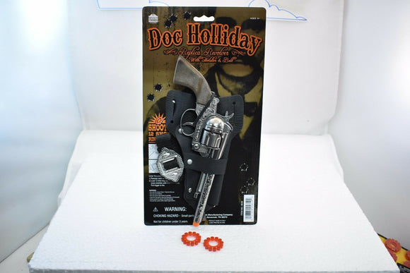 Doc Holliday Single Holster Set Revolver-Toys & Hobbies:Vintage & Antique Toys:Cap Guns:Diecast-ProTinkerToys.com
