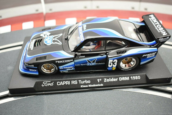 Ford Capri RS Turbo 1˚ Zolder DRM 1980 | 99005 | Fly Car-Toys & Hobbies:Slot Cars:1/32 Scale:1970-Now-ProTinkerToys.com