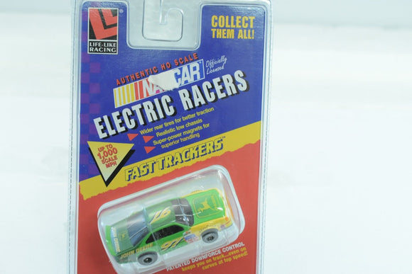 LIFE-LIKE RACING FAST TRACKERS # 9747 NASCAR JOHN DEERE #47-Toys & Hobbies:Slot Cars:HO Scale:1970-Now-ProTinkerToys.com