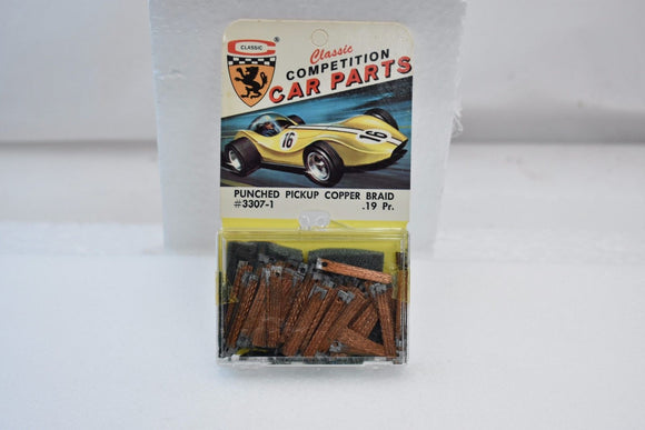 CLASSIC COMPETITION CAR PARTS # 3307-1 PUNCHED PICKUP COPPER BRAID OVER 100-Toys & Hobbies:Slot Cars:1/32 Scale:1970-Now-ProTinkerToys.com