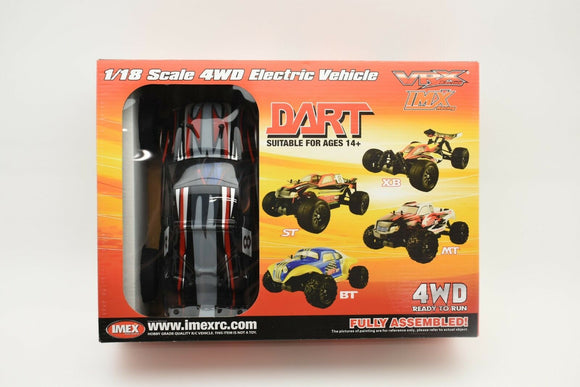 Dart ST – Brushless RTR (BLACK)-Toys & Hobbies:Radio Control & Control Line:RC Model Vehicles & Kits:Cars, Trucks & Motorcycles-ProTinkerToys.com