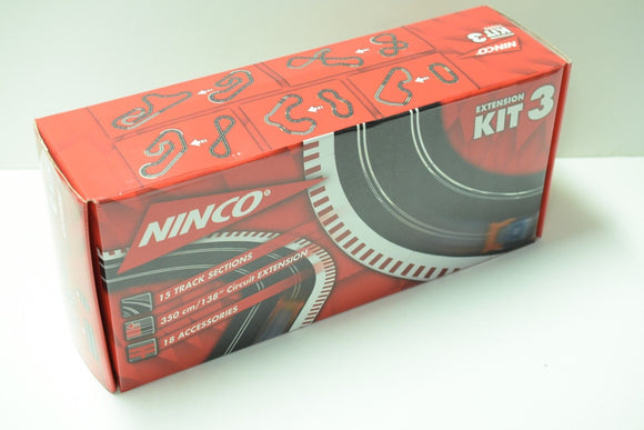 NINCO 1/32 10503 EXTENSION KIT 3 NO DAMAGE NEW KITS GREAT AD-ONS-Toys & Hobbies:Slot Cars:1/32 Scale:1970-Now-ProTinkerToys.com