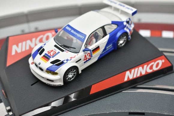 50271 NINCO 1/32 SLOT CAR BMW M3 GTR