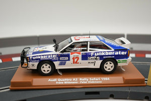 Audi Quattro A2 Rally Safari 1984 | 96097 | Fly Car-Toys & Hobbies:Slot Cars:1/32 Scale:1970-Now-ProTinkerToys.com