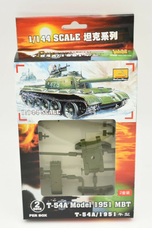 T-54 Model MBT 1951 (2 Per Box) Item #82102-Toys & Hobbies:Models & Kits:Military:Armor-ProTinkerToys.com