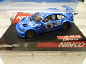 "NINCO 50279 BMW M3 GTR ""SCHEID""-Toys & Hobbies:Slot Cars:1/32 Scale:1970-Now-ProTinkerToys.com"