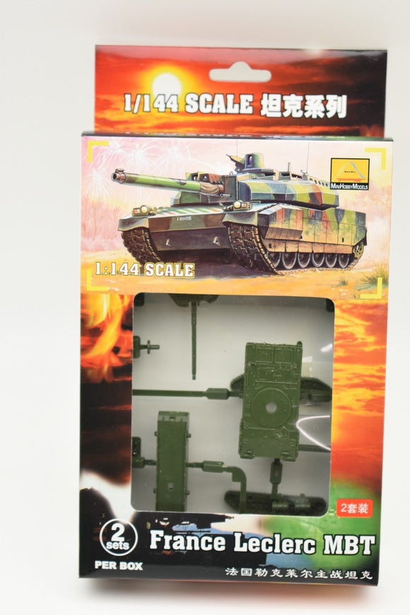 France Lecler MBT (2 Per Box) Item #82107-Toys & Hobbies:Models & Kits:Military:Armor-ProTinkerToys.com
