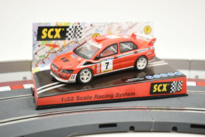 "SCX ANALOG 1/32 SLOT CAR 60900 MITSUBISHI LANCER EVO7 ""COSTA BRAVA ""2002""-Toys & Hobbies:Slot Cars:1/32 Scale:1970-Now-ProTinkerToys.com"