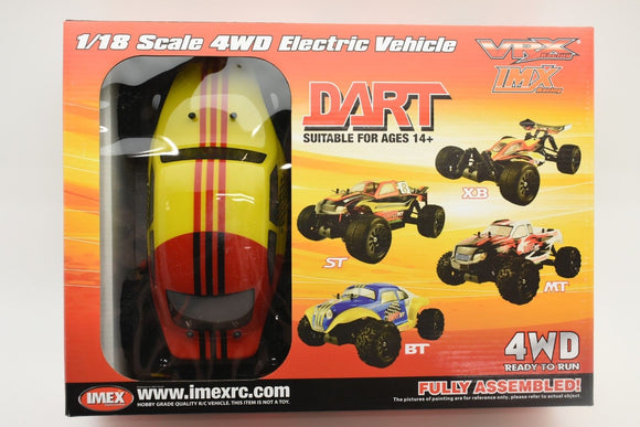 Dart BT – Brushless RTR (YELLOW)-Toys & Hobbies:Radio Control & Control Line:RC Model Vehicles & Kits:Cars, Trucks & Motorcycles-ProTinkerToys.com