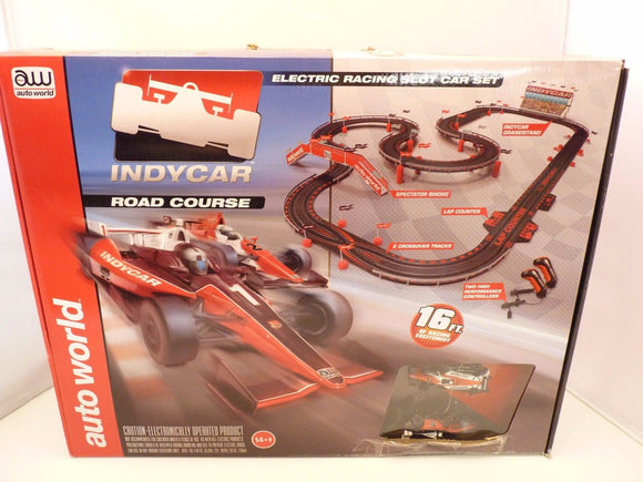 16' Indy Road Course HO Scale | SRS296 | Auto World-Auto World-ProTinkerToys