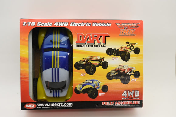 Dart BT – Brushless RTR (BLUE)-IMEX-ProTinkerToys