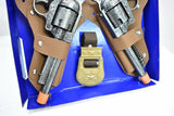 TEXAS RANGER REPEATER PISTOL, DOUBLE HOLSTER SET & BADGE BELT (DIE CAST) #4618-Toys & Hobbies:Vintage & Antique Toys:Cap Guns:Diecast-ProTinkerToys.com