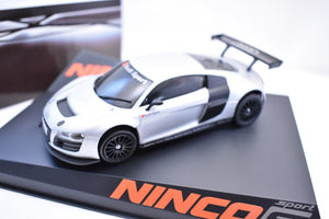 NINCO SPORT S SERIES 1/32 SLOT CARS # 50555 AUDI R8 GT3 TEST CAR LIGHTENED-Toys & Hobbies:Slot Cars:1/32 Scale:1970-Now-ProTinkerToys.com