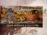 AIRFIX MOTOR RACING TRACK OFFICIALS & SPECTATORS 12 FIGURES (UNPAINTED)-Toys & Hobbies:Slot Cars:1/32 Scale:Pre-1970-ProTinkerToys.com