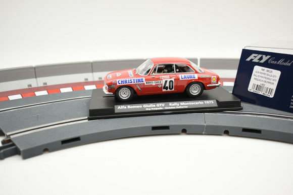 Alfa Romeo Giulia GTV Rally Monte Carlo 1975 #88130 - Fly Car-Toys & Hobbies:Slot Cars:1/32 Scale:1970-Now-ProTinkerToys.com