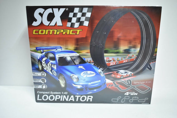 SCX 1/ EA C10163X500 COMPACT LOOPINATOR 1/43 SLOT CAR SET 2/CAR SET-Toys & Hobbies:Slot Cars:1/32 Scale:1970-Now-ProTinkerToys.com