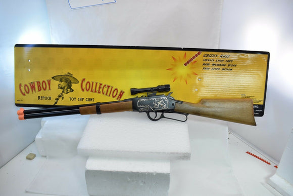 "Grizzly Rifle Plastic Gun ""Cowboy Collection""-Toys & Hobbies:Vintage & Antique Toys:Cap Guns:Diecast-ProTinkerToys.com"