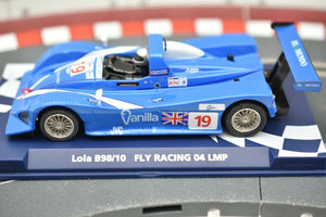 Lola B98/10 Fly Racing 04 LMP #07051 - Fly Car-Toys & Hobbies:Slot Cars:1/32 Scale:1970-Now-ProTinkerToys.com