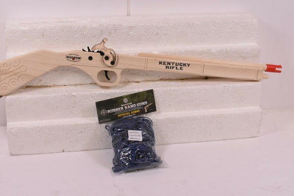 Kentucky Rifle + Ammo | GL2KR | Magnum Rubber Band Guns-Magnum wooden guns-ProTinkerToys