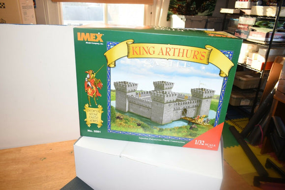 IMEX 3281 1/32 SCALE 54MM KING ARTHURS CASTLE THIS IS BIG COMPLETE 4 WALLS-Toys & Hobbies:Models & Kits:Other Models & Kits-ProTinkerToys.com