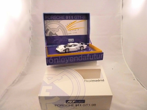 Porsche 911 GT1-98 Real Madrid Club De Futbol | RM01 | Fly Car-Toys & Hobbies:Slot Cars:1/32 Scale:1970-Now-ProTinkerToys.com