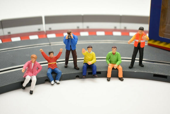 SCX/SCALEXTRIC 88320 1/32 ACCESSORIES 1/BOX FIGURES GRANDSTAND FIGURES (6)-SCX-ProTinkerToys
