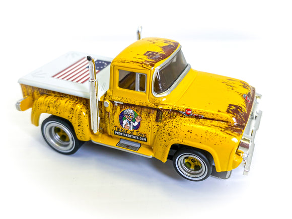 ProTinkerToys Delivery Truck | 1956 Ford F-100 Pickup Truck | CP7779 | Auto World-Auto World-ProTinkerToys