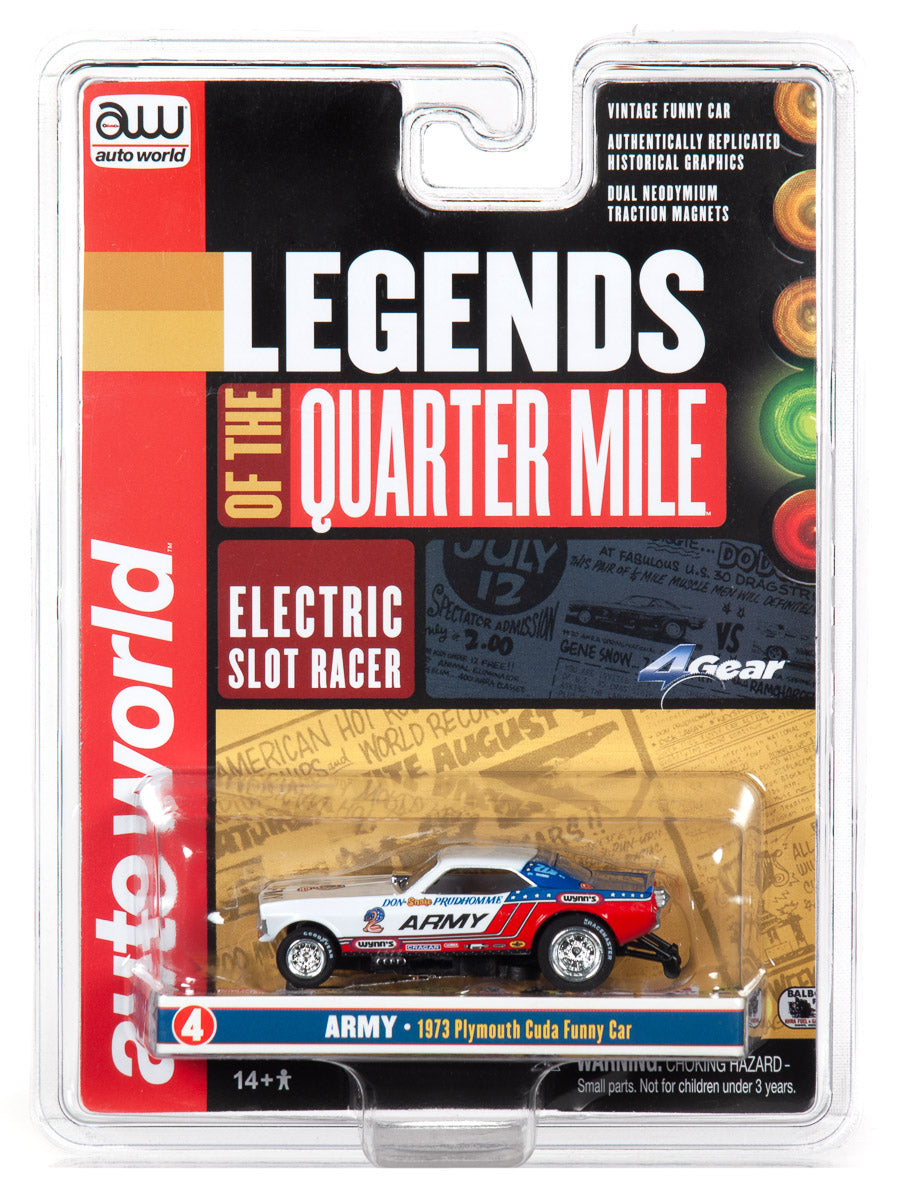 Don Auto World >> Auto World Srs342 Legends Of The Quarter Mile 4 Gear Don The Snake Cuda