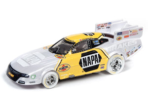 WHITE CAR Ron Capps | NAPA FUNNY CAR Auto Parts 2019 Dodge | Auto World-Toys & Hobbies:Slot Cars:HO Scale:1970-Now-ProTinkerToys.com