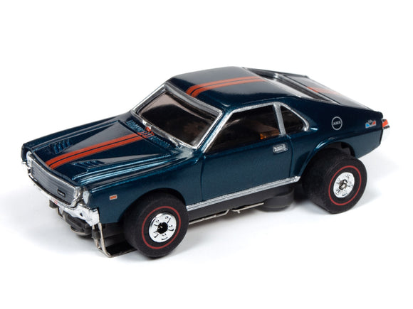 1968 AMC AMX (Blue) | Muscle Cars USA | Auto World | 4-Toys & Hobbies:Slot Cars:HO Scale:1970-Now-ProTinkerToys.com