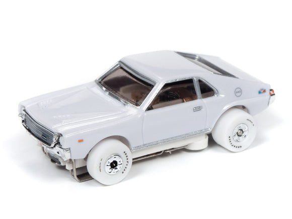 WHITE CAR 1968 AMC AMX (Black) | Muscle Cars USA | Auto World | 4-Toys & Hobbies:Slot Cars:HO Scale:1970-Now-ProTinkerToys.com