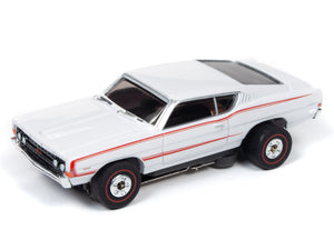 1968 Ford Torino GT (White) | Muscle Cars USA | Auto World | 5-Toys & Hobbies:Slot Cars:HO Scale:1970-Now-ProTinkerToys.com