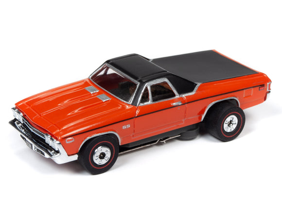 1969 Chevrolet El Camino (Orange) | Muscle Cars USA | Auto World | 3-Toys & Hobbies:Slot Cars:HO Scale:1970-Now-ProTinkerToys.com