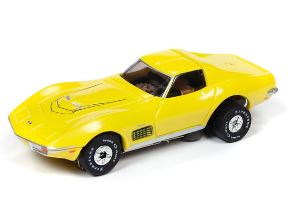 1970 Chevrolet Corvette LT-1 (Yellow) | Muscle Cars USA | Auto World | 2-Toys & Hobbies:Slot Cars:HO Scale:1970-Now-ProTinkerToys.com