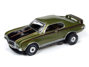 1971 Buick GSX (Green) | Muscle Cars USA | Auto World | 6-Toys & Hobbies:Slot Cars:HO Scale:1970-Now-ProTinkerToys.com