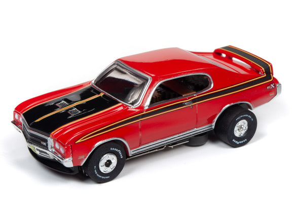 1971 Buick GSX (Red) | Muscle Cars USA | Auto World | SC349-Toys & Hobbies:Slot Cars:HO Scale:1970-Now-ProTinkerToys.com