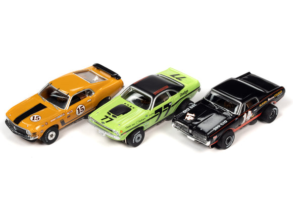 Trans Am Racers - Thunderjet - Release 30 | SC357 | Auto World-Toys & Hobbies:Slot Cars:HO Scale:1970-Now-ProTinkerToys.com