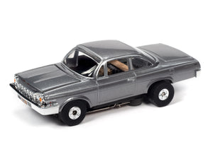 1962 Chevrolet Bel Air | Silver | Thunderjet-Release 32 | Auto World | SC359-Toys & Hobbies:Slot Cars:HO Scale:1970-Now-ProTinkerToys.com