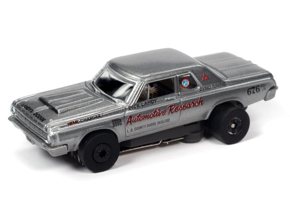 Dick Landy 1964 Dodge 330 (Gray) | Thunderjet-Release 32 | Auto World | SC359-Toys & Hobbies:Slot Cars:HO Scale:1970-Now-ProTinkerToys.com