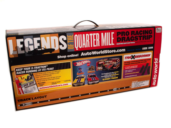 13' Legends of the Quarter Mile Drag Race Set| SRS332-Toys & Hobbies:Slot Cars:HO Scale:1970-Now-ProTinkerToys.com