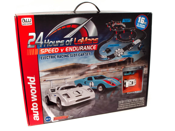 16' 24 Hours of Le Mans Speed V Endurance | SRS333 | Auto World-Toys & Hobbies:Slot Cars:HO Scale:1970-Now-ProTinkerToys.com