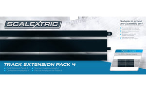 Scalextric Track Extension Pack 4 | C8526 | Scalextric-SCALEXTRIC-ProTinkerToys