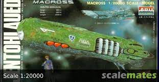 MACROSS 1/20000 SCALE QUILTRA-QUELEUAL  | AR-332-300  | 1/20000 Scale Model Kit