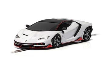 Lamborghini Centenario Bianco Monocerus | C4087 | Scalextric-Toys & Hobbies:Slot Cars:1/32 Scale:1970-Now-ProTinkerToys.com